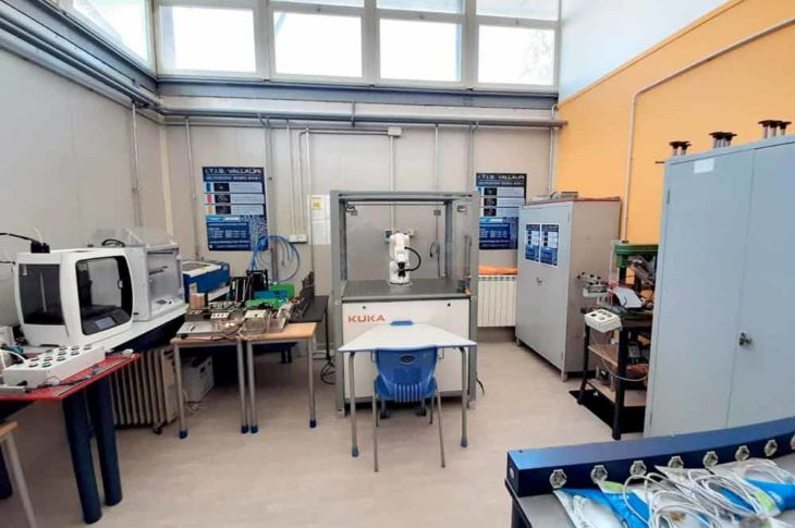 laboratorio di robotica
