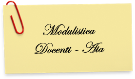 Modulistica per Docenti ed ATA